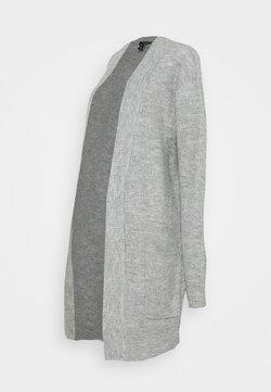 New Look Curves - CARDIGAN - Strickjacke - light grey