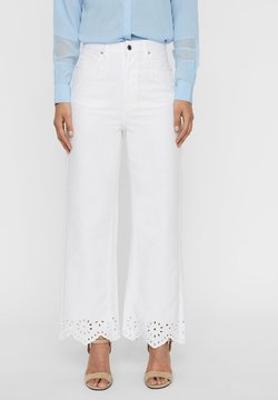 Vero Moda - Relaxed fit jeans - off-white denim