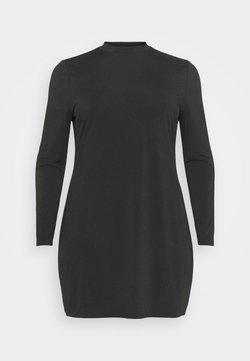 Even&Odd Curvy - Jersey dress - black