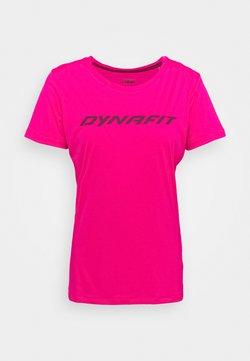 Dynafit - TRAVERSE TEE - T-Shirt print - pink glo