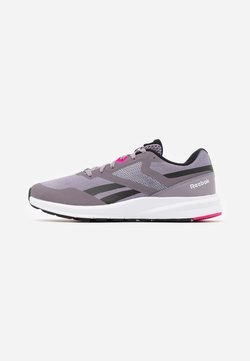 Reebok - RUNNER 4.0 - Zapatillas de running neutras - gravity grey/black/proud pink