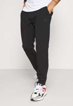 Casall - DOUBLE PANTS - Jogginghose - black