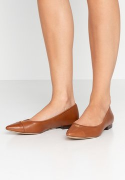 Lauren Ralph Lauren - HALENA - Baleriny - deep saddle tan