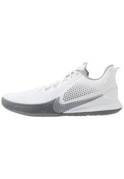 Nike Performance - MAMBA FURY - Basketballschuh - white/wolf grey/pure platinum