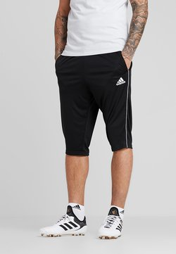 adidas Performance - CORE ELEVEN AEROREADY 3/4 SPORT PANTS - Rybaczki sportowe - black/white