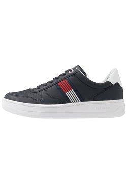 Tommy Hilfiger - BASKET LOW CUPSOLE - Sneaker low - blue