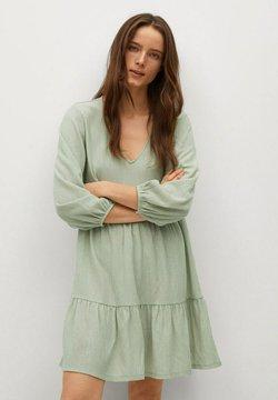 Mango - Korte jurk - pastellgrün