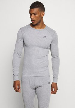 ODLO - ACTIVE WARM ECO TOP CREW NECK - Camiseta de deporte - grey melange