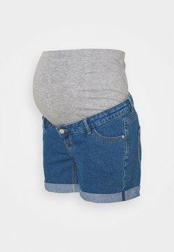 ONLY - OLMVEGA LIFE MOM - Jeans Shorts - medium blue denim
