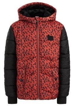 WE Fashion - MET PANTERDESSIN - Talvitakki - red