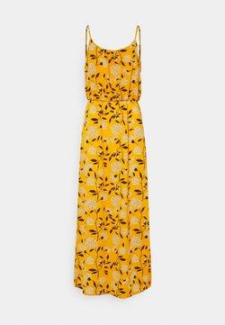 ONLY - ONLNOVA LUX STRAP MAXI DRESS - Maxi-jurk - golden yellow/white
