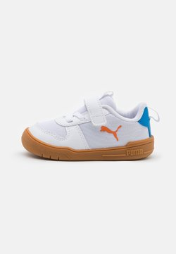 Puma - MULTIFLEX SPORT UNISEX - Obuwie treningowe - white/vibrant orange