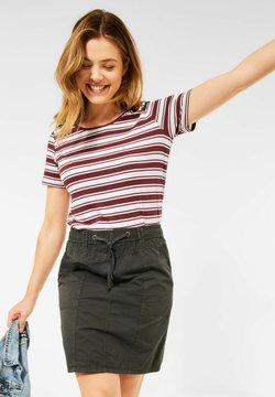Cecil - T-Shirt print - braun