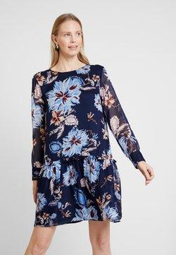 GANT - MARINE PAISLEY DRESS - Freizeitkleid - persian blue