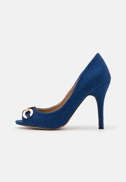 Wallis - CHURCH - Peeptoe - blue