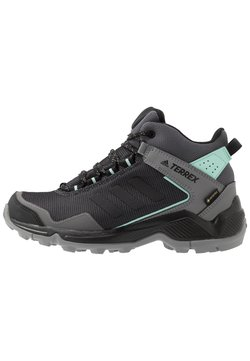 adidas Performance - TERREX EASTRAIL MID GORE-TEX - Hikingschuh - grey four/core black/clear mint