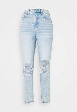 American Eagle - MOM - Jeans straight leg - blue denim