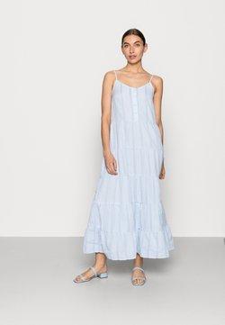 Moss Copenhagen - PAMINA DRESS - Freizeitkleid - white/blue