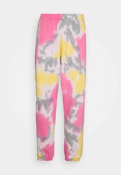 Obey Clothing - SUSTAINABLE TIE DYE - Jogginghose - yellow/multi