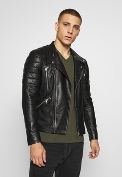 Serge Pariente - GLADIATOR - Veste en cuir - black