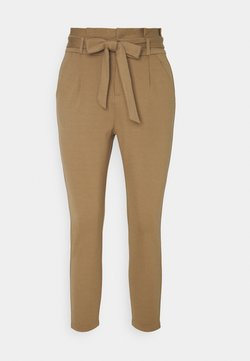 Vero Moda Petite - VMEVA LOOSE PAPERBAG PANT - Pantalon classique - sepia tint