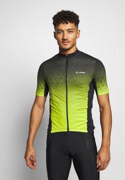LÖFFLER - BIKE EVO - T-Shirt print - black/light green