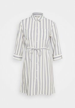 ONLY - ONLTAMARI DRESS - Abito a camicia - cloud dancer/silver conce