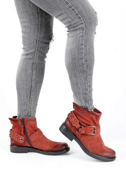 MJUS - Ankle Boot - brule