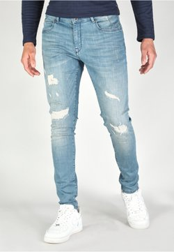 Gabbiano - ULTIMO - Jeans Slim Fit - greencast destroyed