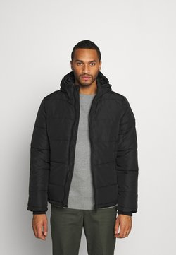 Burton Menswear London - MIDWEIGHT PUFFER - Winterjacke - black