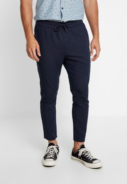 Only & Sons - ONSLINUS CROP  - Kangashousut - dress blues