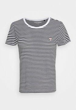 Guess - LOGO BABY TEE - T-Shirt print - black/white