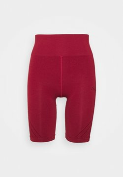 ONLY Play - ONPJAVO CIRCULAR SHORTS - Medias - sun dried tomato