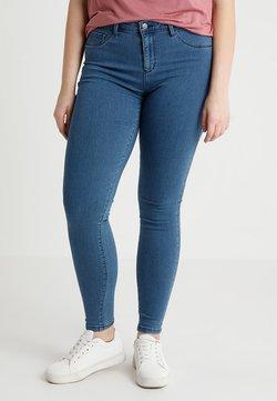 ONLY Carmakoma - CARTHUNDER PUSH UP - Jeans Skinny Fit - medium blue denim