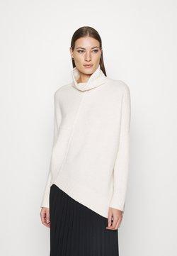 AllSaints - LOCK ROLL NECK - Strickpullover - alabaster white