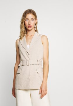 4th & Reckless - HOLLY JACKET - Smanicato - nude