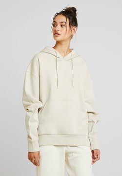 Weekday - ALISA HOODIE - Luvtröja - beige dusty light