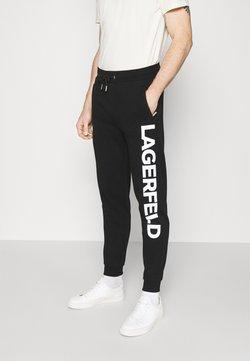 KARL LAGERFELD - PANTS - Jogginghose - black