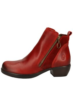Fly London - Ankle Boot - red
