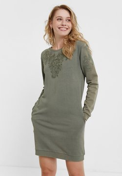 Desigual - BUKIT - Vestido de punto - green