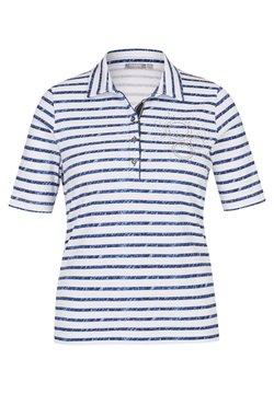Rabe 1920 - MIT STRASS-STEINEN UND STREIFEN - Poloshirt - dunkelblau