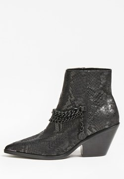 Guess - PATZIY PYTHON - Ankle Boot - noir