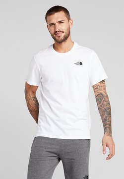 The North Face - MENS SIMPLE DOME TEE - T-shirt basique - white
