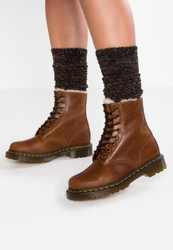 Dr. Martens - 1460 SERENA - Lace-up ankle boots - butterscotch orleans