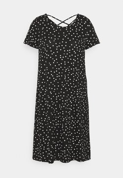 ONLY Tall - ONLBERA BACK LACEUP DRESS - Vestido ligero - black