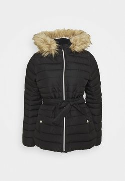 Hollister Co. - BELTED CORE PUFFER - Veste mi-saison - black