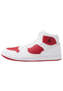Jordan - JORDAN ACCESS - Sneaker high - white/black/gym red