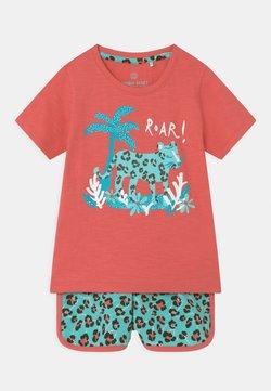 Lemon Beret - SMALL GIRLS SET - T-shirts print - tea rose