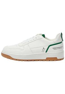 PULL&BEAR - Sneakersy niskie - white