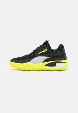 Puma - COURT RIDER - Chaussures de basket - black/yellow alert